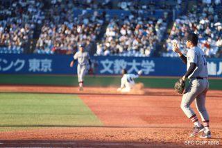 「早慶戦一日目 3連覇へ向けて初戦勝利」の画像