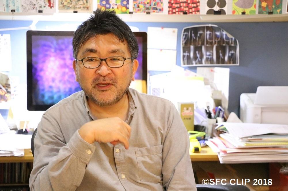 ORF実行委員長を務める加藤文俊教授