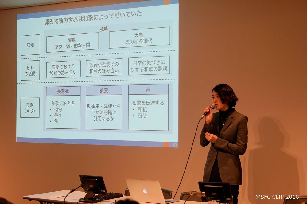 和歌の重要性は現在では考えられないほど重要なものであることを説明した