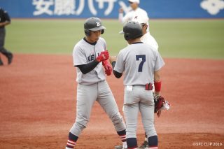 「Keio wins day 2 of the 2019 Spring Keio-Waseda baseball games」の画像