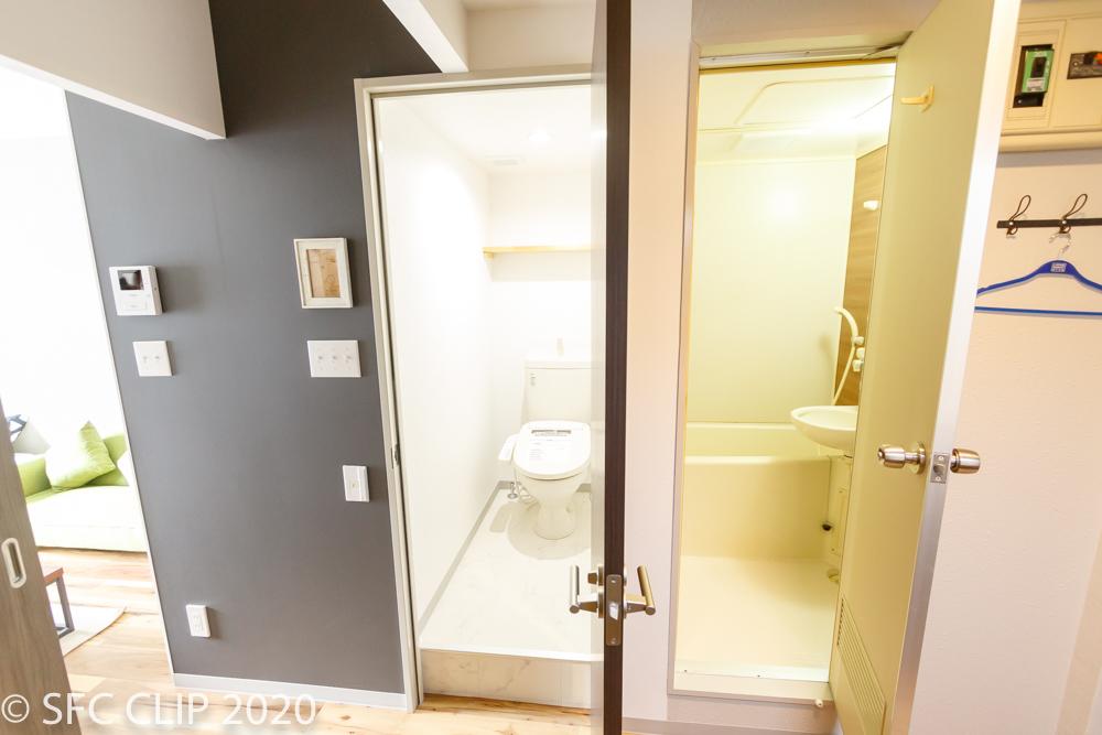 浴室・トイレは別