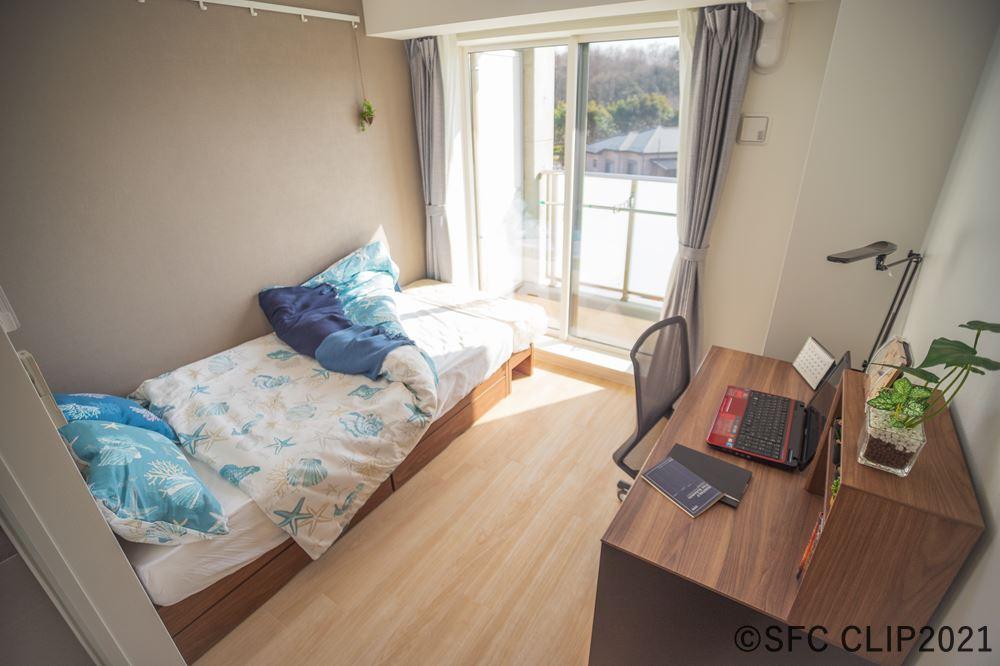 モデルルームとして用意された一室(4階南向き)