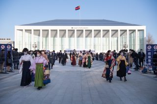 「2020年度卒業式 日吉記念館で初開催」の画像